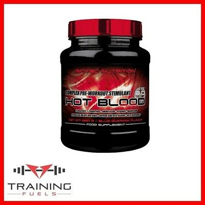 Scitec Nutrition Hot Blood 3.0 300g Pre Workout Creatine Amino Acid