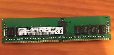 SK Hynix 16GB PC4-2400T Server ECC RDIMM Memory HMA82GR7AFR8N-UH 2Rx8 PC4-19200