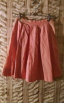 Vintage 1950's Girls Kate Greenaway Skirt Size 8
