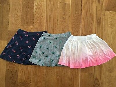 Old Navy Girls Lot of 3 Skorts Skirts Pink Gray Blue Size L Large 10-12 EUC
