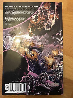X-Men Supernovas Graphic Novel marvel paperback tpb sabretooth rogue wolverine
