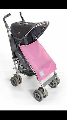 UV Buggy Pushchair SUN CANOPY COVER For Legs SPF50+ PINK