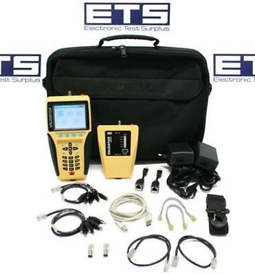 Test-Um JDSU Validator NT-900 Network Cable Tester With NT900 Remote
