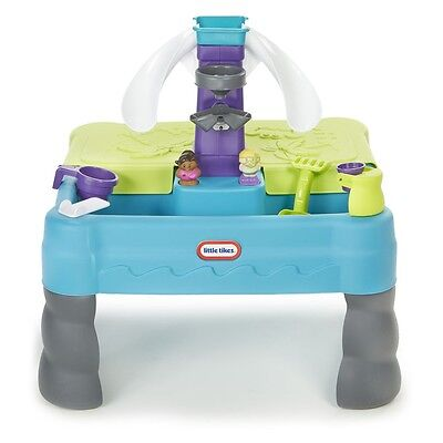 Little Tikes Sandy Lagoon Waterpark Play Table - Fast Shipping - Open Box - READ