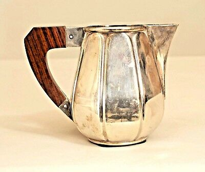 French Art Deco Silverplate Creamer