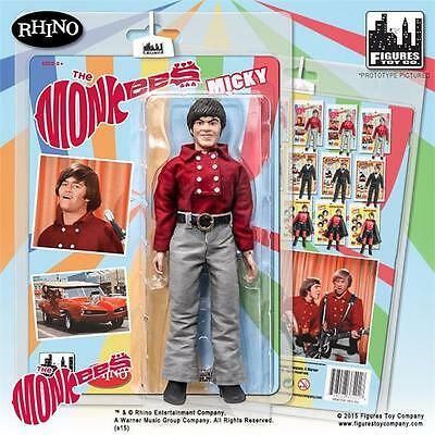 The Monkees MICKY DOLENZ  Red Band Suit; 8 INCH ACTION FIGURE LICENSED FTC NEW