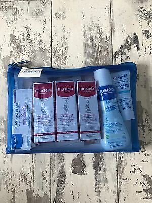 Mustela Travel Size Gift Set Contains 6 Items And 4 Samples Brand New & Unused