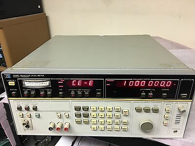 HP 3586C Selective Level Meter w/ Option 004 High Stability Frequency Reference