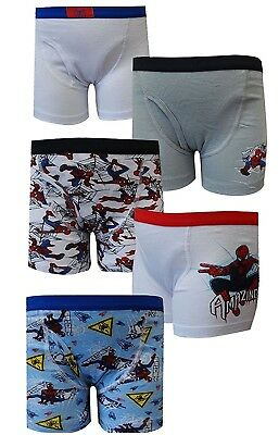 Marvel Comics Amazing Spiderman 5 Pack Boys Boxer Briefs for boys (4)