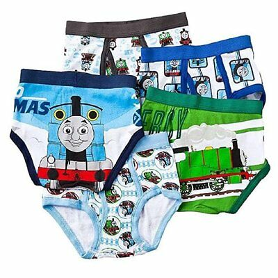 Thomas the Tank Engine Toddler Boys 5 Pack Underwear Briefs,multicolor,size 4