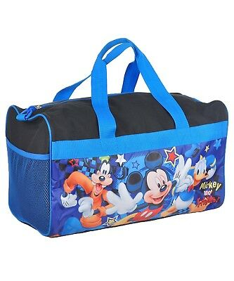 Boy's Mickey Mouse Duffle Bag Mickey, Goofy and Donald Duck