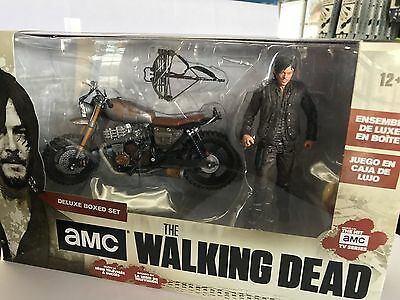 AMC The Walking Dead Daryl Dixon with Custom Bike Deluxe Boxed Set