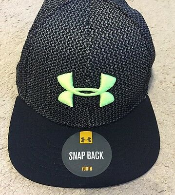 Under Armour Boy's Twist Knit Snapback Cap Hat Youth NEW WITH TAGS