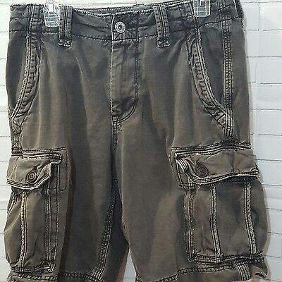 American Eagle Men's  Cargo Shorts Charcoal Gray Size 30