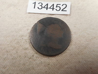 1793-1796 Liberty Cap Large Cent Filler Low Grade No Date Type Coin - # 134452