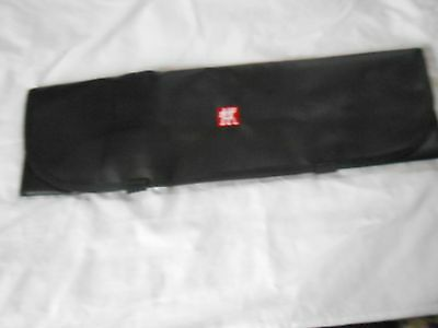 Vinyl Chef's Knife Carrying Case, 7 Knife, New