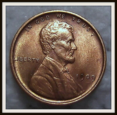1909 1C RD Lincoln Cent (BU)