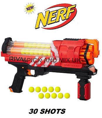 Nerf Rival Artemis XVII-3000 in RED, Kids Indoor Outdoor Blaster Toy Gun