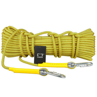 10.5mm Climbing Rope Safety Rescue Escape Rappelling Hiking Camping Tent Ropes