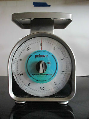 PELOUZE portion control brushed aluminum scale  YZ180R  5lb.x1/2 oz.
