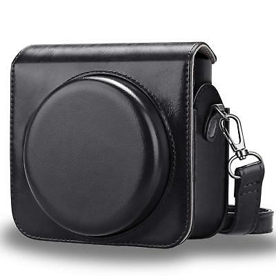 For Fujifilm Instax Square SQ6 Instant Film Camera Case Bag Cover - Black