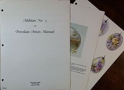 Addition #1 to Porcelain Artists Manual by Helen Humes