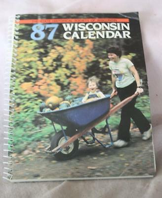 State Historical Society of Wisconsin's  1987 Wisconsin Calendar