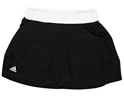 Adidas Girls' Club Skort - Black