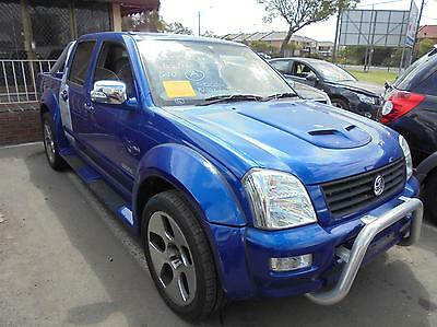 Holden Rodeo Trans/gearbox Manual, 2Wd, Petrol, 3.6, Alloytech, Ra, 01/06-07/08