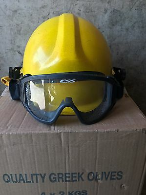 Bullard Fire Fighter Firedome Series Helmet With Goggles