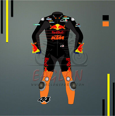 POL ESPARGARO & BRADLY SMITH KTM RED BULL MOTOGP 2017 LEATHER SUIT (All Sizes)