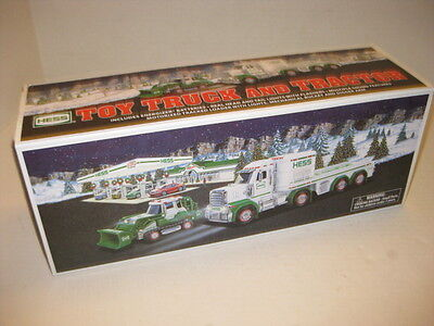 NEW in BOX Hess Toy Truck and Tractor 2013  Original Box - Pristine New