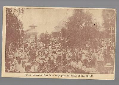 pk27322:Postcard-Young Canada's Day at Canadian National Exhibition,Toronto,ON