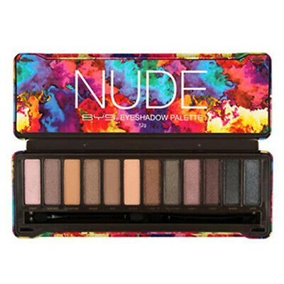 BYS NUDE Eyeshadow Palette 12 Shades,Naked Natural Eye Shadow - Sealed Limited