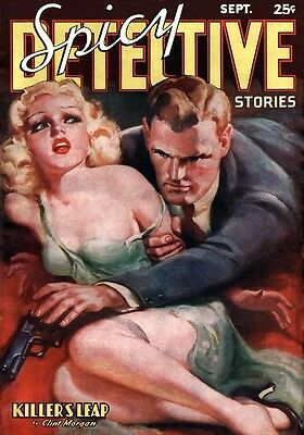 ☆ PULP COMIC / MAGAZINE COVER ART ☆ Restored PRINT-MAKING Images on DVD-Rom Disc