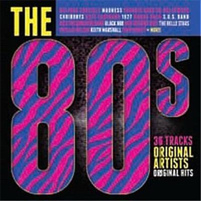 THE 80'S- Various Artists- 2 CD SET