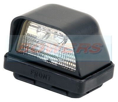 Rubbolite Truck-Lite M833 833/01/04 Rear Led Number Plate Light Lamp 12V 24V