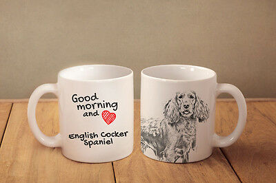 Englische Cocker Spaniel - Keramik Becher Subli Dog DE