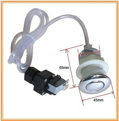 AIR SWITCH BUTTON replacement kit for spa bath garbage waste disposal massage