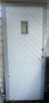 Vintage Timber Entry Door - 2085 X 870Mm