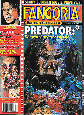 Fangoria #65 (1987, 70 pages, full colour) good as new - very scarce