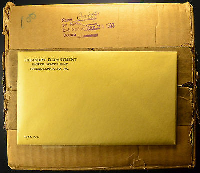 1963 Sealed Proof Sets Unopened & Untouched for 54 Years