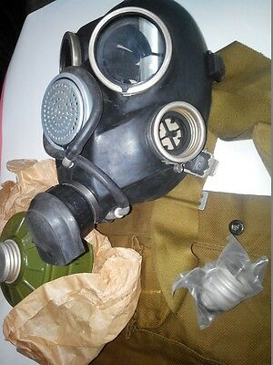 GAS MASK GP-7V drinking system (Mask,Filter,Bag),Russian Army