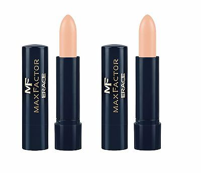 Max Factor Erace Cover-Up Concealer Stick Choose Fair or Ivory