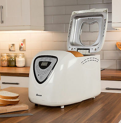 Swan Fastbake Bread Maker 14 Programmes Including Gluten Free with Timer SB1041N