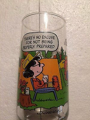 Camp Snoopy Collection McDonalds Glass 2
