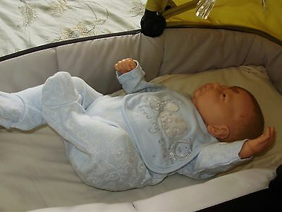 Reborn baby boy doll one of a kind