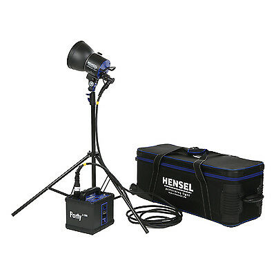 Hensel Portable Flash Porty L 1200 Studio Light Kit with Free Speed Upgrade Head