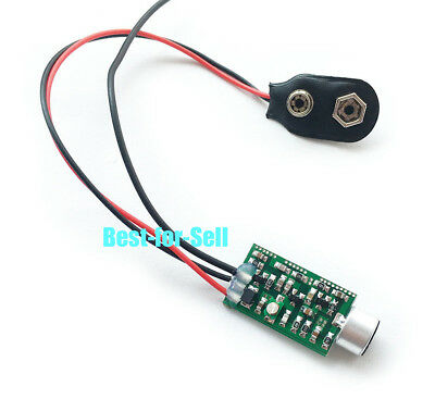 9V Wireless Microphone Audio FM Transmitter Module Baby Surveillance Monitoring