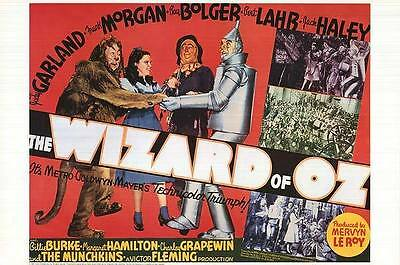 The Wizard Of Oz  (1939) Limited Edition  Movie Poster  -  Rolled